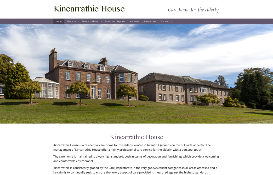 Kincarrathie House