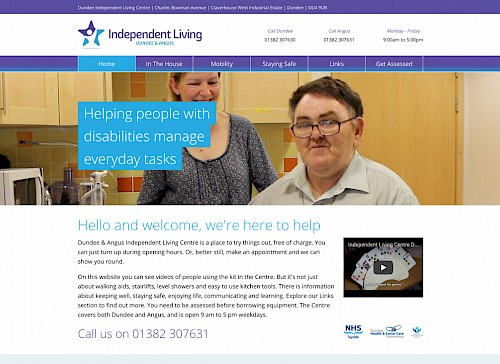 Dundee & Angus Independent Living Centre